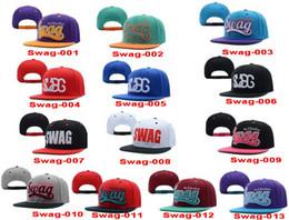 Wholesale Snapback Colours - 2015 NEW VINTAGE SWAG FLAT BILL SNAPBACK CAP HAT MANY COLORS AVAILABLE,SWAG MULTI-COLOURED STITCH SNAPBACKs baseball caps, HIP HOP HATs hat
