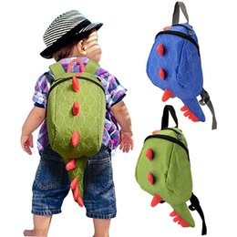 Wholesale Hot Kids Backpacks - kids backpack Hot Sale girls boys children backpack school bags cartoon animals smaller dinosaurs snacks 2-6 year fashion