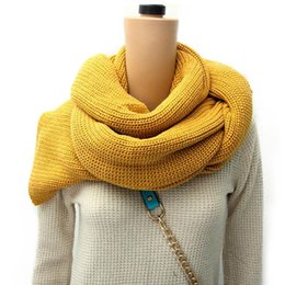 Wholesale Anal Boy - Wholesale-ANAL 4color Classic lover's cotton scarf boy girl Scarfs Shawl Unisex Winter knitting Neck scarves winter Warm scarf new 2015