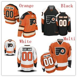 Wholesale Philadelphia Kid - Cheap Wholesale Custom Philadelphia Flyers Hockey Jersey Customized All Stitched Personalized For Men Women And Kids Size S-4XL