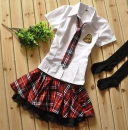 Wholesale Sexy Hot School Girl Costume - Details about Details about Hot Sexy Japanese Japan School Girl Uniform Cosplay Costume NEW