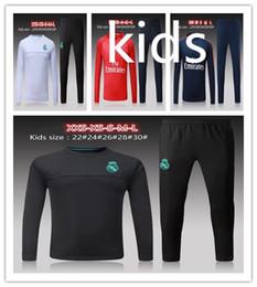 Wholesale Zipper Jr - children long sleeve psg kids jacket 17 18 kids NEYMAR JR Cavani jacket tracksuit 2017 2018 Maillot de foot T SILVA Training suit
