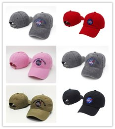 Wholesale gold meat - Free Shipping 2017 NEW Fashion rare I NEED MY SPACE NASA Meat Ball 6 god Embroidered Cotton dad hat snapback Baseball cap