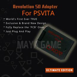 2019 spielkartenadapter Version 3.0 SD2Vita Für ps vita karte PSVita Spielkarte Micro SD Adapter Für PS Vita Henkaku Enso 3,60 System 256 GB rabatt spielkartenadapter