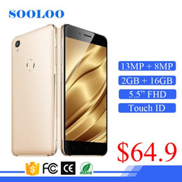 "Wholesale Low Price Android Mobile Phone - Low Price 4G VOLTE 5.5"" IPS 3000mAh 2GB RAM 16GB ROM Touch ID China Mobile Phone Android"
