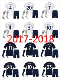 Wholesale Harry Shirts - 17 18, totham del alli's football jersey, in his hometown of lilywhite, left the football shirt of eriksson harry Kane, his son DEMBELE fo