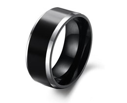 Wholesale Mens Comfort Fit Ring - 8MM Mens Tungsten Carbide Wedding Engagement Band Ring Comfort Fit Big SZ 4-14 Alliance Bridal Jewelry TU003R