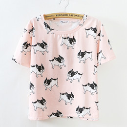 Wholesale Cat Modelling Shirt - Wholesale-[Amy] 2015 New women t shirt O-Neck Short banana cat  watermelon printing tshirt for girl free shipp 10 model