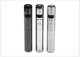 Wholesale E Cigarette Atomizer Lcd Voltage - E Cigar Vamo V5 starter ego kit with LCD Display Variable Voltage Battery 2 Atomizers Clearomizer Electronic Cigarette