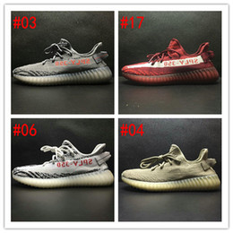 Wholesale Nude Color Shoes Flats - 2017 Hot New Color Kanye West Boost 350 V2 Running Shoe Sply 350 Season 3 Shoes Men Women Boost V2 Sneakers Orange Black Shoe Size Eur 36-46