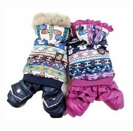 "Wholesale Girl Puppy Clothes - Boy Girl Dog Cat Warm ""Lover""Coat Jacket Pet Puppy Hoody Clothes Apperal snowman design 4 sizes"