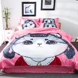 Wholesale Aqua Comforter Sets - CAH030- Multi-Choice Christmas Cartoon Comforter Set for Kids Studennt 3D Print Duvet Bedding Cover Pillow Cases Quilt Cover Bed Bedding Set