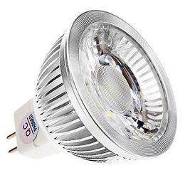 галогенные лампы Скидка 12V MR16 GU5.3 Светодиодные прожекторы высокой мощности COB 9W с регулируемой яркостью светодиодные лампы Теплый / натуральный / холодный белый Заменить 50W галогенная лампа