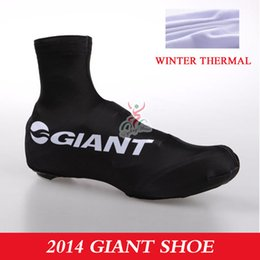 Wholesale Giant Bike Shoe Cover - Wholesale-giant 2015 winter thermal fleecev cycling shoes cover overshoes sport mtb bike ciclismo bicycle bicicleta shoes cover size M-XL