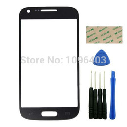 Wholesale-Front Mirror LEN Glass Repair Touch Screen Replacement With Tools Free Shipping For  Galaxy S4 Mini I9190 Black от
