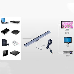 Wholesale Wired Infrared Ray Sensor Bar - In stock! Replacement Infrared TV Ray Wired Remote Sensor Bar Reciever Inductor for Nintendo Wii Wii U Console