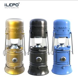 Wholesale Usb Camping Lantern - Outdoor Portable Wireless Bluetooth Speaker With USB TF Card FM Radio Powen Bank Mini Speakers Torch Lantern For Hiking Camping VS Charge 3