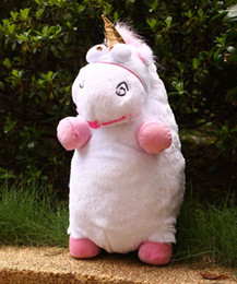 Wholesale Despicable Unicorn 22 - Despicable Me Fluffy Unicorn Plush Pillow Toy Doll big 22 inch Fluffy figure gift Free shipping