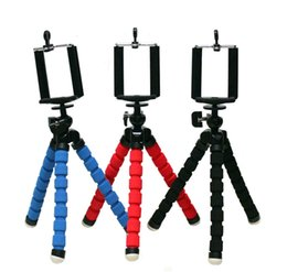 Wholesale Camera Accessories For Mobiles - Car Phone Holder Flexible Octopus Tripod Bracket Selfie Stand Mount Monopod Styling Accessories For Mobile Phone Samsung Camera