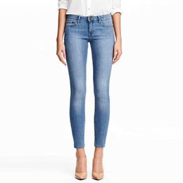 Wholesale Tight Sexy Jeans Woman - Plus Size Women Jeans Slim Skinny Pencil Pants Sexy Blue Denim Tights Leggings Long Casual Trousers Drop Shipping BSF0359
