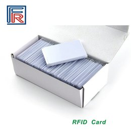 Wholesale Custom H3 - Custom CMYK Offset printing 860-960MHz RFID pvc card with Alien H3 ISO18000-6C chip for access control Parking system