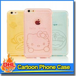 Wholesale Despicable Tpu - Colorful Cartoon Skin Cell Phone Case Cover Despicable Me Minions TPU Case For iPhone 6 s