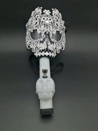 Wholesale Gas Gifts - New Gas Mask Bong Big Art Mask Silicone Pipes Water Shisha Acrylic Smoking Pipe Sillicone Mask Hookah Tobacco Tubes Gift boxes