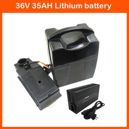 Wholesale Battery Charger For Sanyo - 36V 1000W Battery 36V 35AH Electric Bicycle Battery 36V Scooter Use for SANYO 3500mah cells 42V 5A Fast charger
