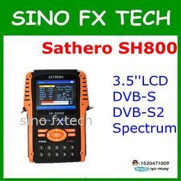 Argentina Buscador de satélite digital Sathero SH-800HD DVB-S2 digital Salida HDMI con analizador de espectro Sathero SH 800HD Suministro