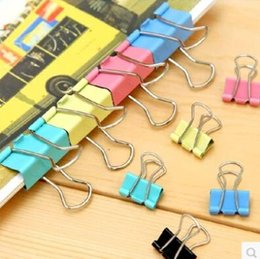 Wholesale New Invoice - Wholesale-new Office supplies color Elliot folder steel clip small clip reimbursed according to the invoice invoice stationery folder
