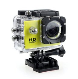 Wholesale Dhl Free Shipping Hdmi - Waterproof D001 2 Inch LCD Screen SJ4000 style 1080P Full HD HDMI Camcorders SJcam Helmet Sport DV 30M Action Camera shipping Free send DHL