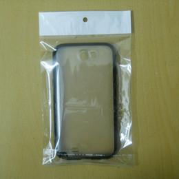 """12cmx18cm (4,7 """"* 7,1"""") 500pcs / lot plastique transparent au détail emballage en plastique polyéthylène pour étui de téléphone portable, paquet de vente au détail pour téléphone portable ? partir de fabricateur"""