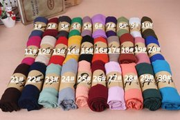 Wholesale Cheap Pashmina Scarves Shawls - Lady Mixed Candy Colour Pick fashion Long Scarf Wrap Shawl Stole sexy fashion cheap multicolor punk scarf scarves wraps free shipping
