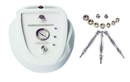 Wholesale Diamond High Frequency - Diamond Dermabrasion Machine Updated Microdermabrasion Dermabrasion Peeling Machine High Frequency Galvanic Skin Care Face Beauty Spa