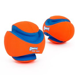 Wholesale Puppy Stockings - Chuckit Fumble Fetch Toy for Pet Outdoor Puppy Football Soft Flexible Rubber Resistant To Bite Molar Interactive