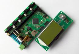 Ner Ver 2.1 AZSMZ 32-битный контроллер + 12864 ЖК-дисплей (для 3D-принтеров, ЧПУ, лазерных резцов, например, мини-плакет для Azteeg x5) от Поставщики битовый контроллер