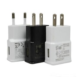 Wholesale Galaxy S4 Power - USB Wall Charger 5V 2A Home Travel adapter EU US Plug Charger AC Power Adapter for Samsung Galaxy S3 S4 S5 OM-CC6