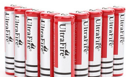 Wholesale Lithium Ion Battery Wholesale - 2pcs lot 18650 rechargeable batteries 3.7v 5000 mAh Lithium li-ion battery for led Flashlight batery Free shipping