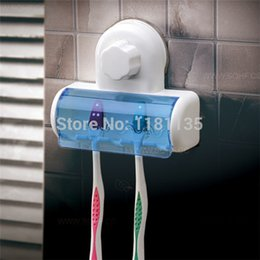 Wholesale Spinbrush Suction Holder - High Quality Home Bathroom Wall 5 Set Toothbrush SpinBrush Suction Holder Stand Rack Plastic Free Shipping