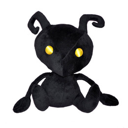 "Wholesale Kingdom Hearts Free - Free Shipping New Kingdom Hearts Plush Doll Stuffed Fashion Toy Shadow Heartless Ant 10"" For Kids Gift"
