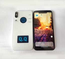 Wholesale Gsm Tv - Smart phone Unlocked Goophone X iX i8 plus 5.5inch Quad Core MTK6580 1GB RAM 4GB ROM with 8GB SD Card GPS WIFI GSM WCDMA 3G Cellphone