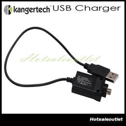 Wholesale Ego Kanger - Original Kanger USB Charger cable e cigarette Kanger USB Charger EVOD USB ego battery Charger Cable for Ipow 2 mini spinner kanger nebox