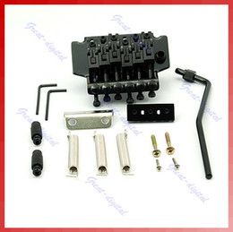 Wholesale Double Locking Floyd Rose System - Free Shipping Floyd Rose Lic Tremolo Bridge Double Locking System Bla order<$18no track