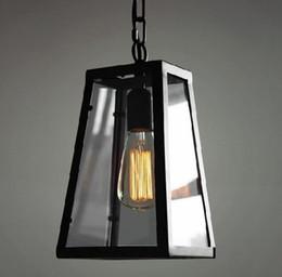 Argentina Lámpara de techo de metal de estilo industrial, lámpara de techo, lámpara de techo, lámpara de cristal de Edison Lámpara de techo de metal, estilo industrial, bricolaje cheap industrial ceiling lights diy Suministro