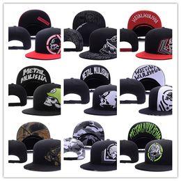 Wholesale Metal Cotton - Good Selling Cheap Metal Snapback Hat Snap Back Hat For Men Summer Baseball Cap Mulisha Cheap Fox Hip Hop Hat Adjustable Women