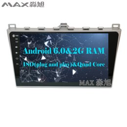Wholesale Mazda Car Gps - 2G RAM 16G ROM Android 6.0 Car DVD Player for MAZDA6 MAZDA 6 with 1024*600 Radio BT WIFI SWC GPS free map