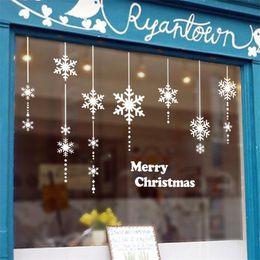 2019 decorazioni naturali della natura Merry Christmas store vetrofanie in vetro xmas47 capodanno decorazione festa capodanno festa in festa sconti decorazioni naturali della natura
