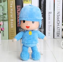 Wholesale Bandai 12 - Wholesale-10inch 25cm New bandai plush Pocoyo Soft Plush Stuffed Figure Toy Doll