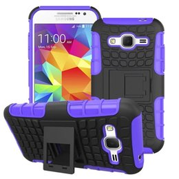 Wholesale Ace Silicone - 2 in 1 Robot Cover For Samsung Galaxy Ace 4 G313H Note3 5 7 Core Prime G360 J1 J5 J7 S7Edge Heavy Duty Hybrid Armor Kickstand Hard Back Case