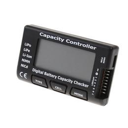Wholesale Nimh Battery Life - Wholesale CellMeter-7 digital Battery Capacity Checker LiPo LiFe Li-ion NiMH NiCd